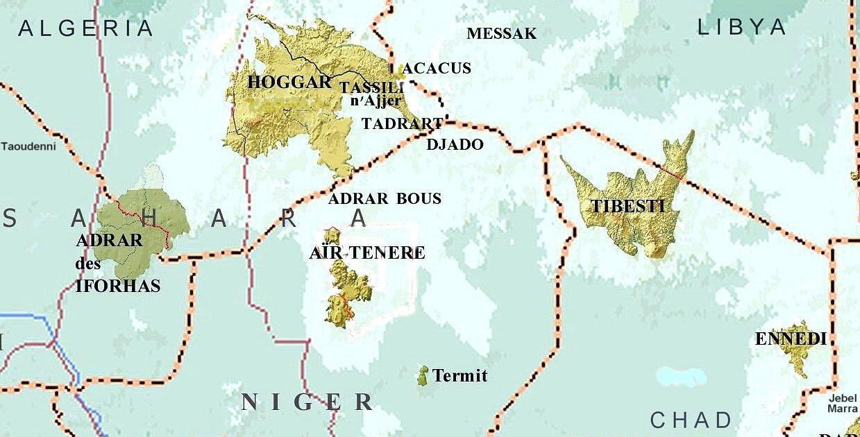Místa pro datování v Nigérii