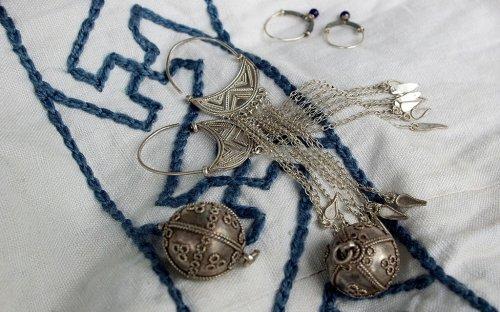 Kopie velkomoravských šperků.