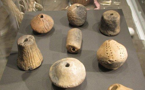 Soubor eneolitických přeslenů (foto: Viktoria Čisťakova)