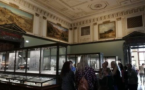 V archeologické expozici NHM ve Vídni