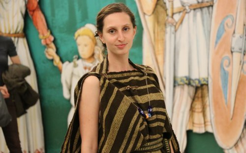 Přehlídka pravěké módy v rámci Pražské muzejní noci 2018